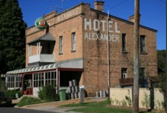 Alexander Hotel Rydal - Taree Accommodation
