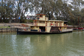 Emmylou Paddle Steamer - Taree Accommodation