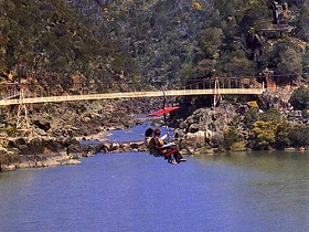 Launceston Cataract Gorge  Gorge Scenic Chairlift - Taree Accommodation