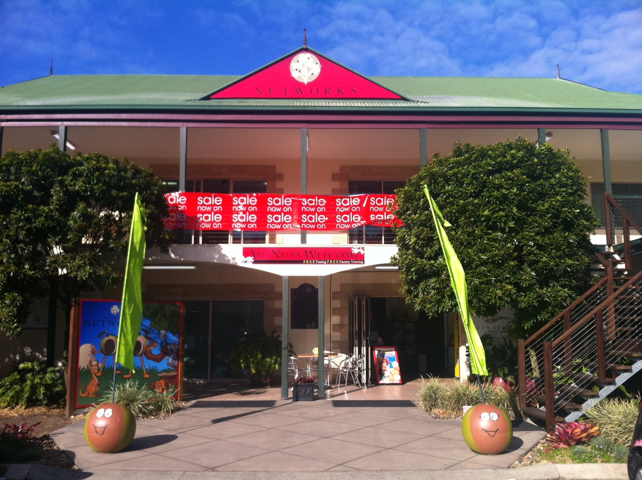 Nutworks - Taree Accommodation