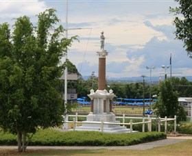 Booval War Memorial - Taree Accommodation