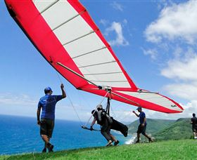 Hang gliding Oz - Taree Accommodation