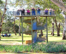 Darling and Murray River Junction and Viewing Tower - Taree Accommodation
