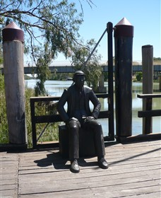 Captain John Egge Statue - Taree Accommodation