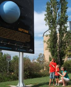 Worlds Largest Virtual Solar System Drive - Taree Accommodation