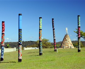 Maclean Tartan Power Poles - Taree Accommodation