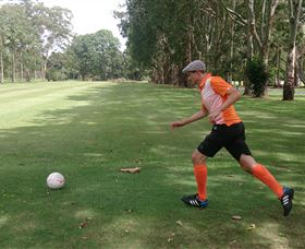 FootGolf at Teven Valley Golf Course - Taree Accommodation