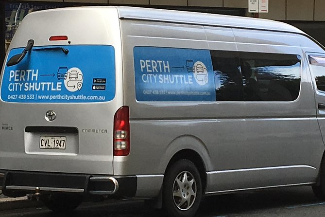 2 Passenger Shared Arrival Transfer - Perth Airport to Perth City Hotel