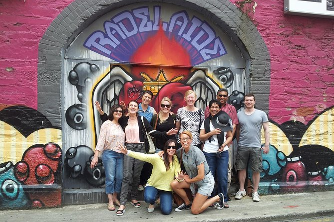 Adelaide City Food and Street Art Walking Tour - Taree Accommodation