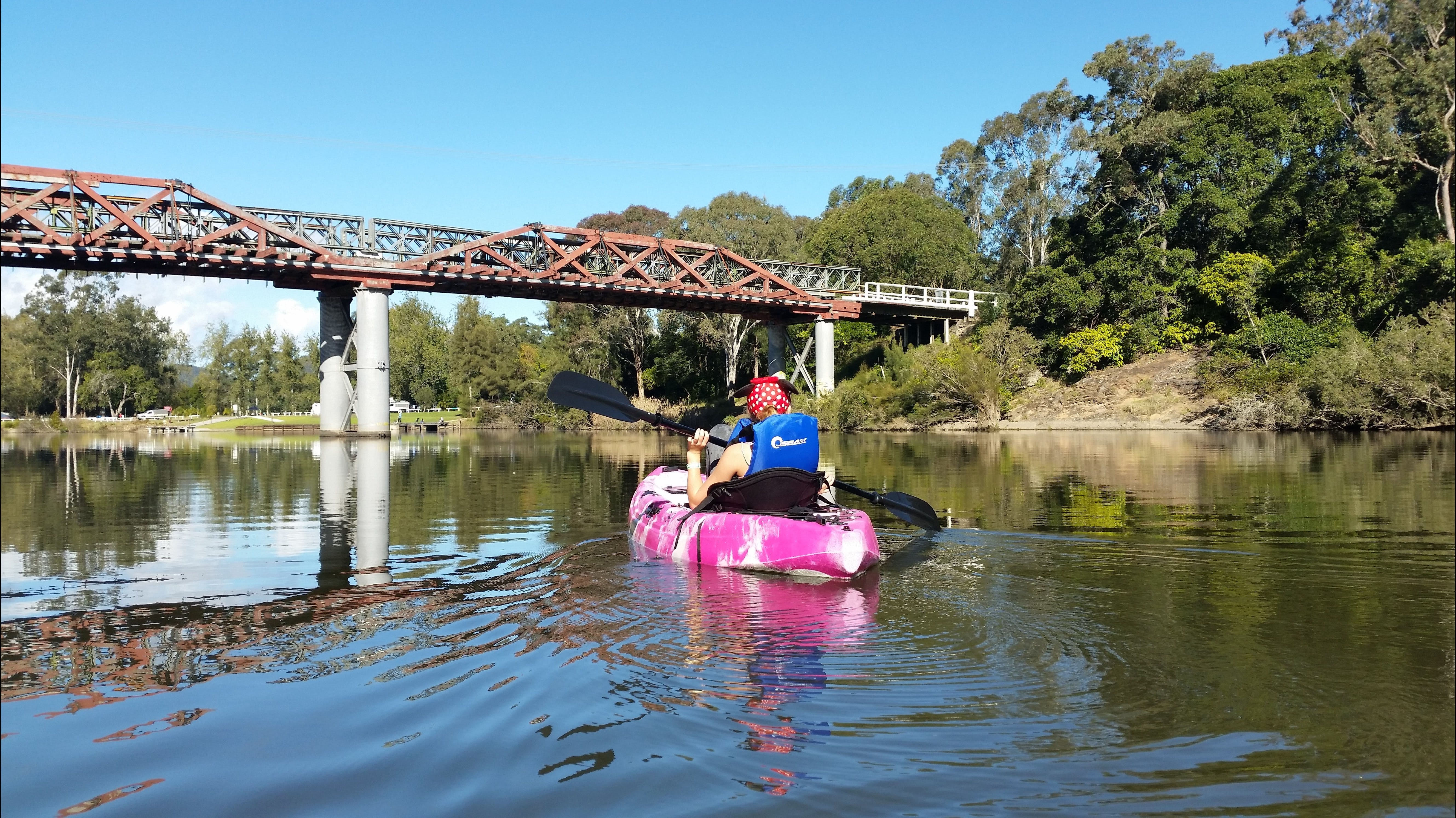 Canoeing at Clarence Town - Taree Accommodation