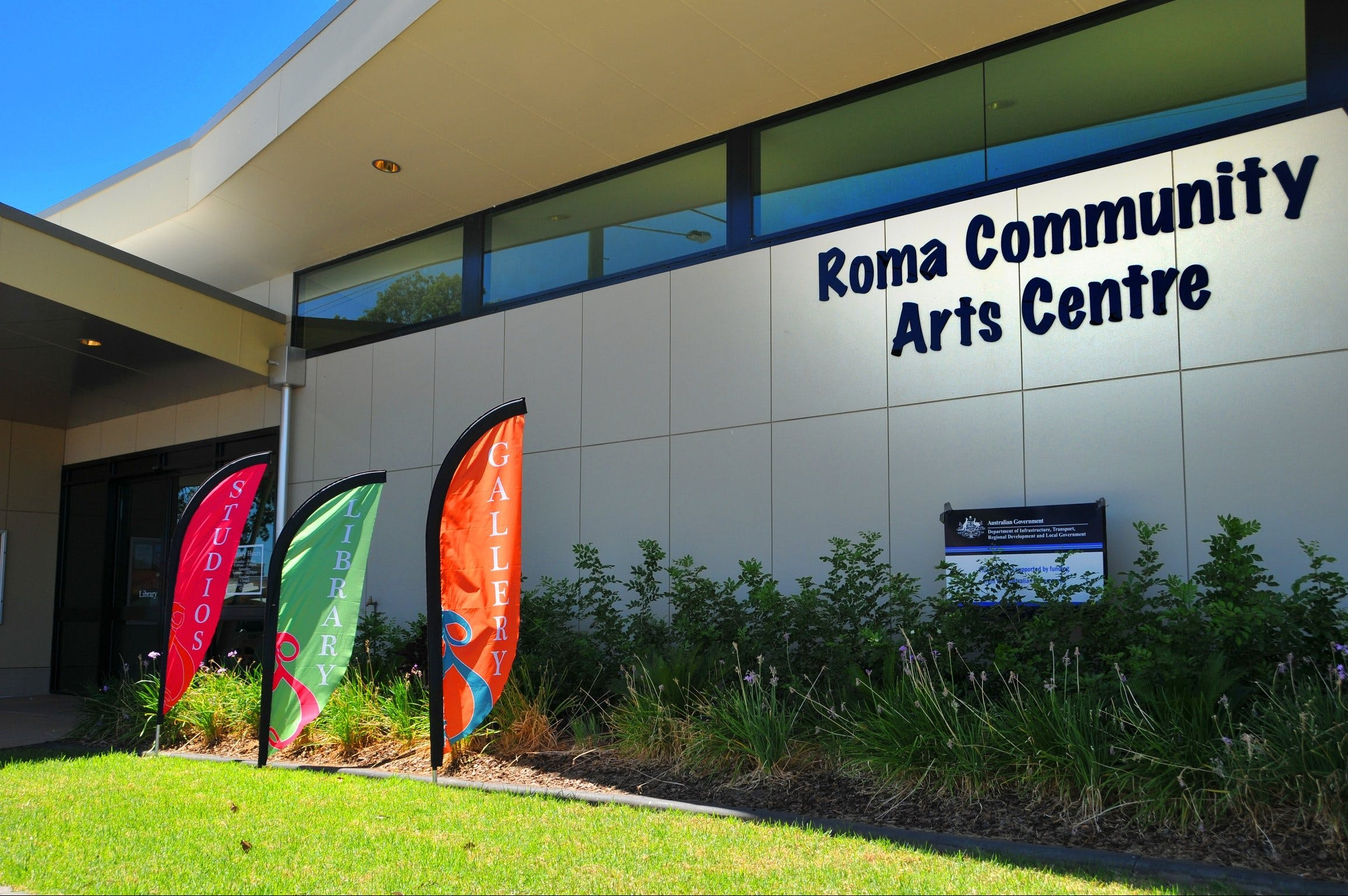 Roma on Bungil Art Gallery and the Walk of Art - Taree Accommodation