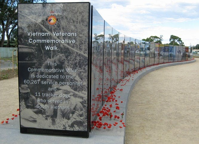 Vietnam Veterans Commemorative Walk - Taree Accommodation