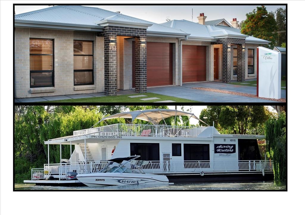 Renmark River Villas and Boats  Bedzzz - Taree Accommodation
